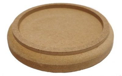 Postament MDF rond inlay